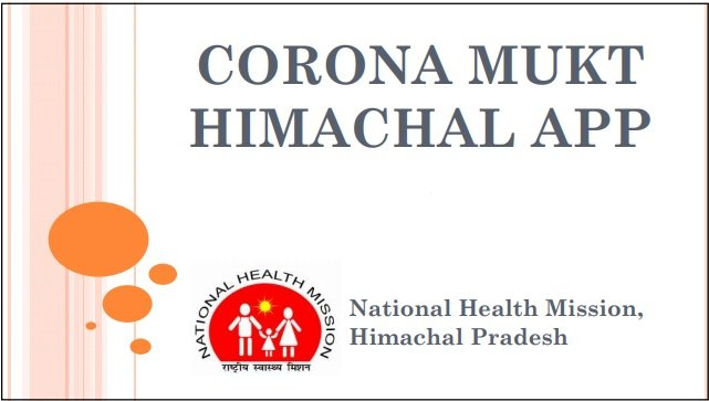 Corona-mukt-Himchal-app