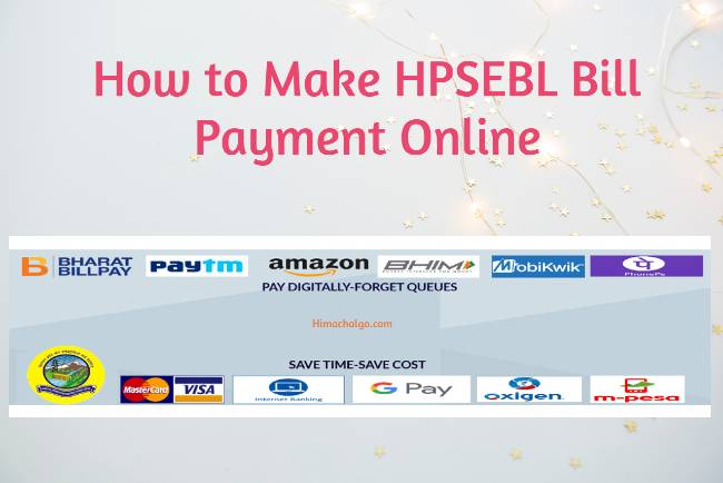 How to Make HPSEBL Bill Payment Online